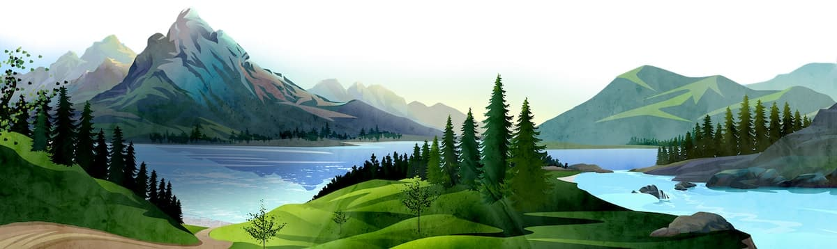 Lanscape background